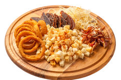 Beer snacks - Stock Image Royalty Free Stock Image