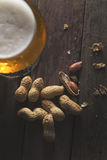 Beer and snacks Stock Photography
