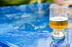 Beer by the Spa Stock Photos