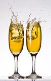 Beer splashes Royalty Free Stock Images