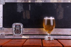 Beer on stage Royalty Free Stock Photos