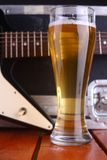 Beer on stage Royalty Free Stock Photography