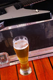 Beer on stage Royalty Free Stock Images