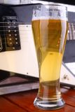 Beer on stage Stock Image