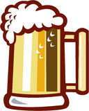 Beer Stein Isolated Retro vector illustration