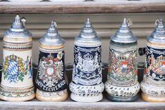 Beer stein in Munich Royalty Free Stock Photo