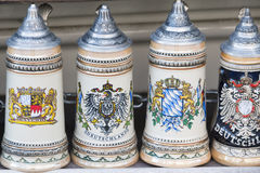 Beer stein in Munich Royalty Free Stock Image