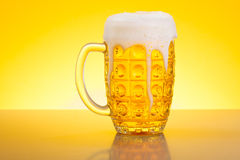 Beer in Stein Stock Photos