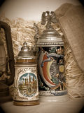 Beer Stein Still Life Stock Photo