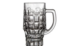 Beer stein on white background Royalty Free Stock Photos