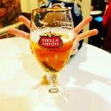 Stella Artois vivat stock image