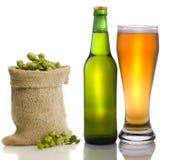 Beer still life Stock Photo