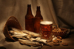 Beer still life Stock Photo