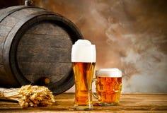 Beer still life Royalty Free Stock Image