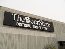 The Beer Store Royalty Free Stock Images