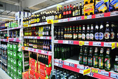 Beer store Stock Photography