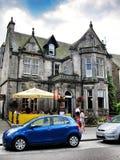 Beer store on roadside in  edinburgh,scotland Royalty Free Stock Photos