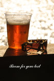 Beer in the summer Royalty Free Stock Images