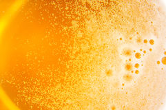 Beer surface Royalty Free Stock Photos