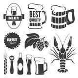 Beer symbols Royalty Free Stock Photos