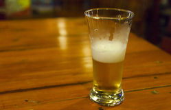 Beer on a table Royalty Free Stock Photo