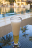 Beer on a table Royalty Free Stock Photos