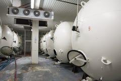Beer Tanks Stock Photo
