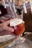 Beer on tap Royalty Free Stock Image