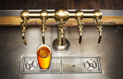 Beer tap Royalty Free Stock Photography