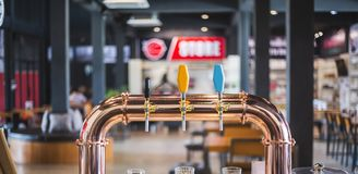 The Beer tap stock photos