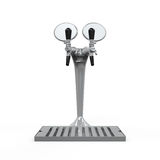 Beer Tap Isolated Stock Image