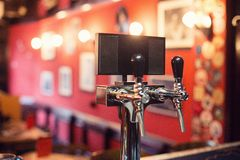 Beer Tap in a Pub Royalty Free Stock Photo
