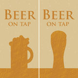 Beer on tap Stock Photography