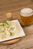 Beer and tapa Royalty Free Stock Photos