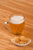 Beer and tapa Stock Photo