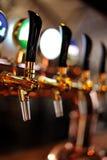 Beer Taps Stock Image