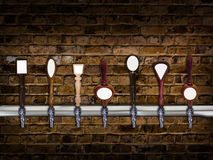 Beer taps Royalty Free Stock Photo