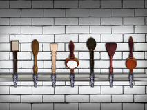 Beer taps Royalty Free Stock Image