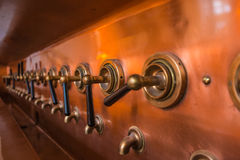 Beer taps Royalty Free Stock Photos