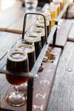 Beer tasting Royalty Free Stock Photography