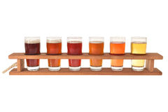 Beer testing Stock Photography
