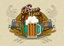 Beer theme Royalty Free Stock Images