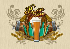 Beer time Royalty Free Stock Photography