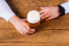 Beer time. Stock Image