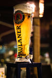 Beer Tower. A tall chilled 3 liters Paulaner beer tower Royalty Free Stock Photography