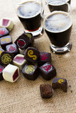 Beer truffles Stock Images