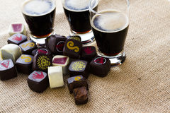 Beer truffles Stock Image