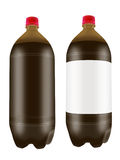 Beer in two liter plastic bottles. Stock Image