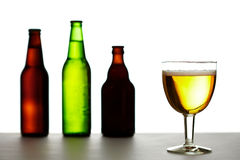 Beer variety Royalty Free Stock Photos