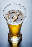 Beer, view from above. Glass full of beer, view from above Stock Photo